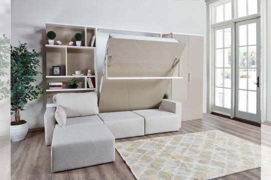 duvara monte edilen mobilyalar