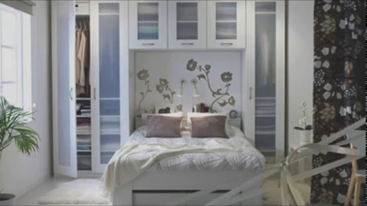 minimal yatak odası